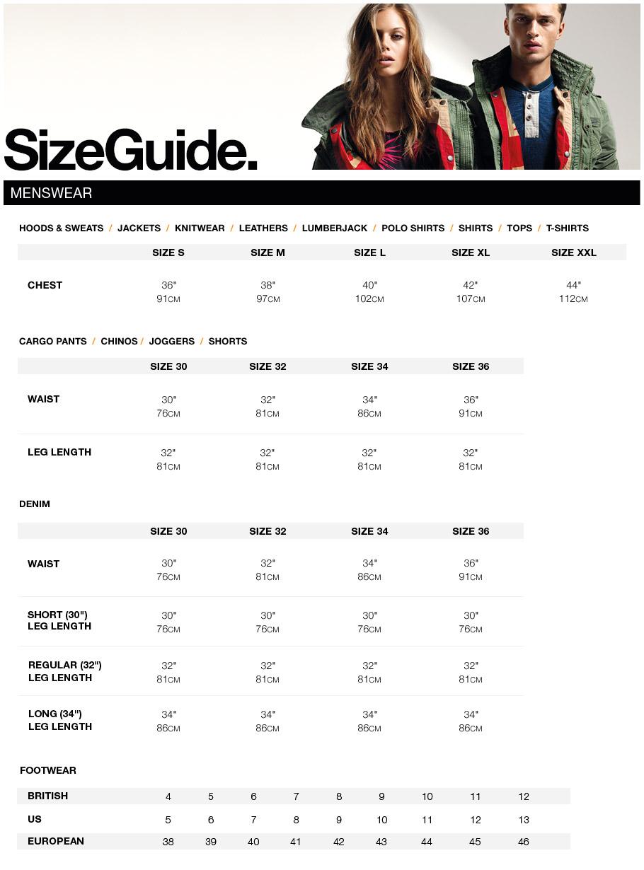 Faqs superdry men size guide nvjuhfo Images