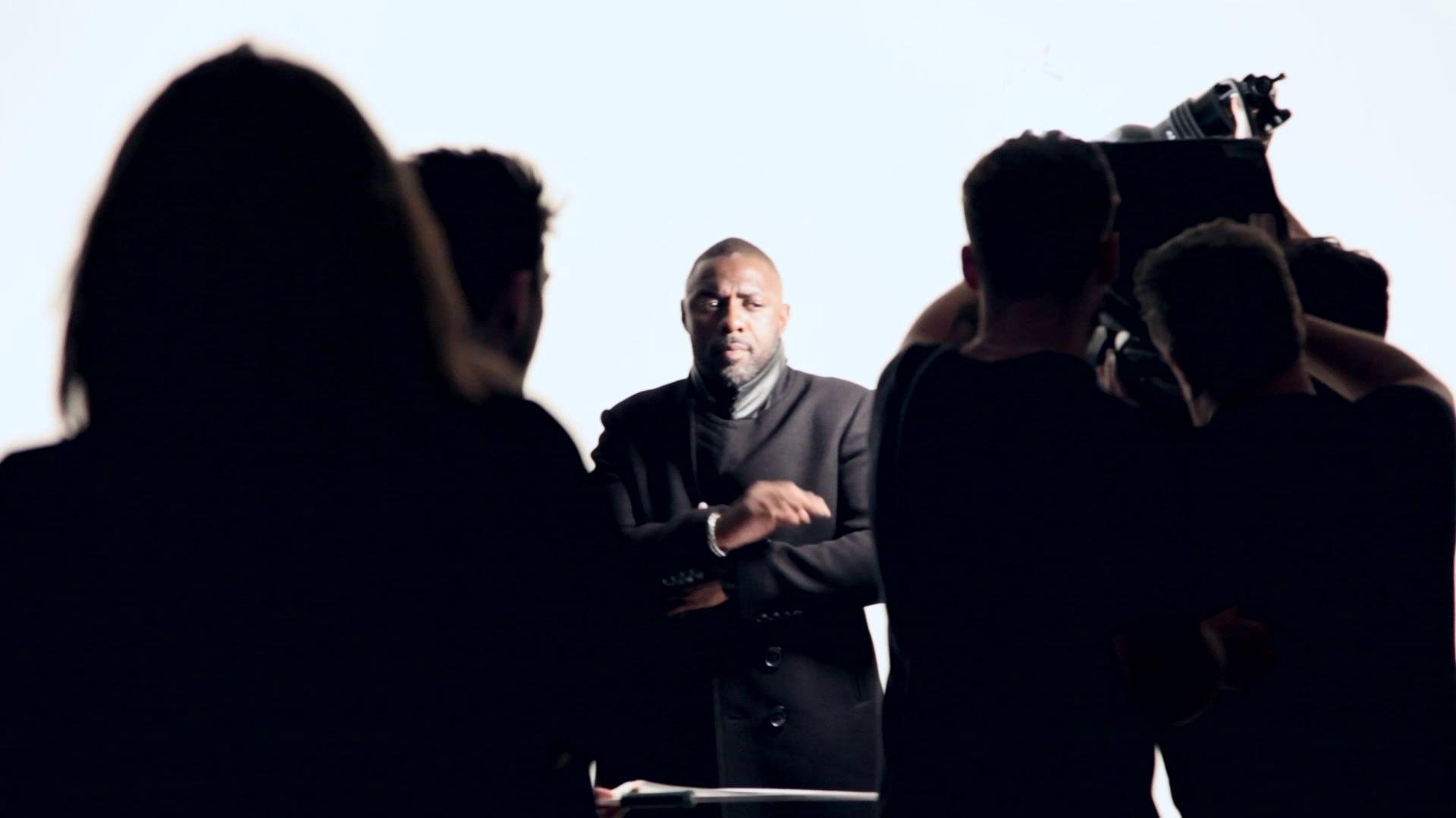 Rankin: sur le plateau avec Idris Elba