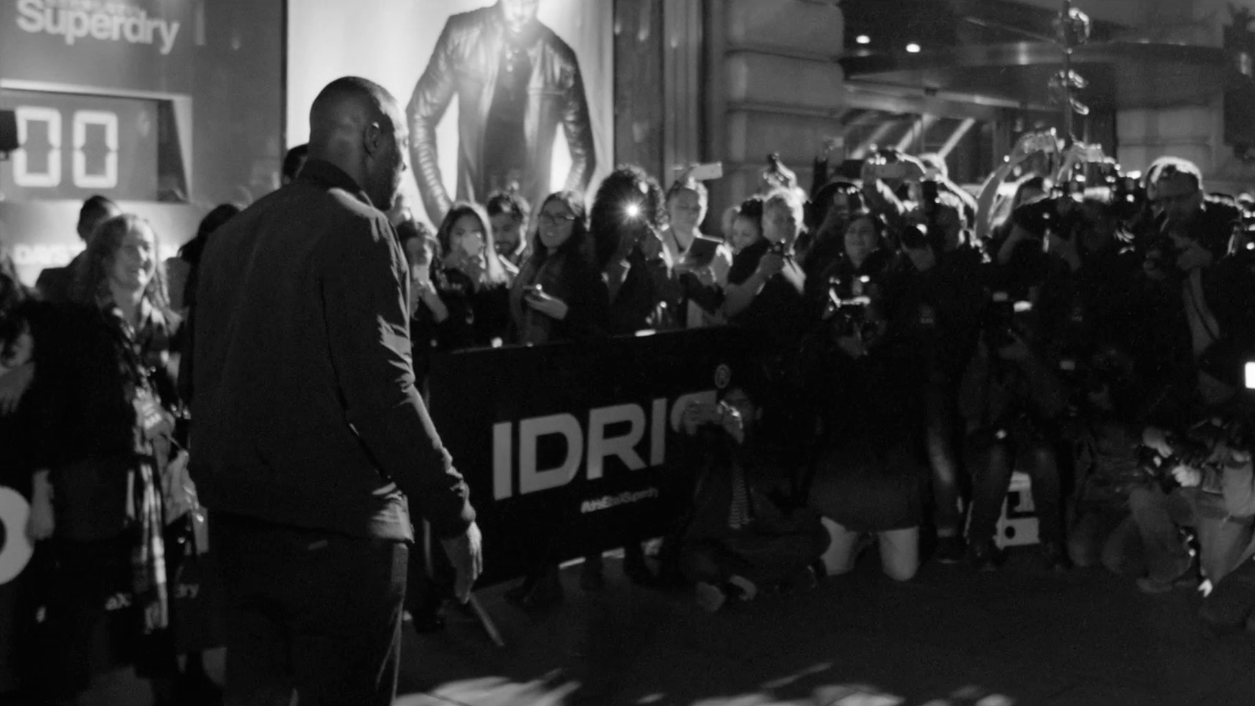 Man of the moment: Idris Elba + Superdry Launch