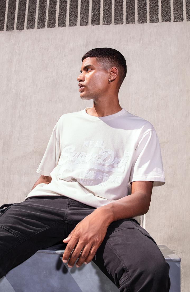 8a11a1d46 Vintage Logo Box Fit Applique T-Shirt