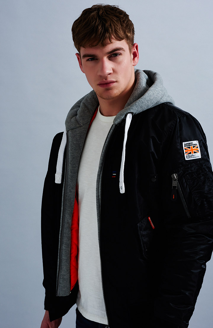 Mens Jackets &amp Coats | Winter &amp Hooded Jackets and Coats - Superdry