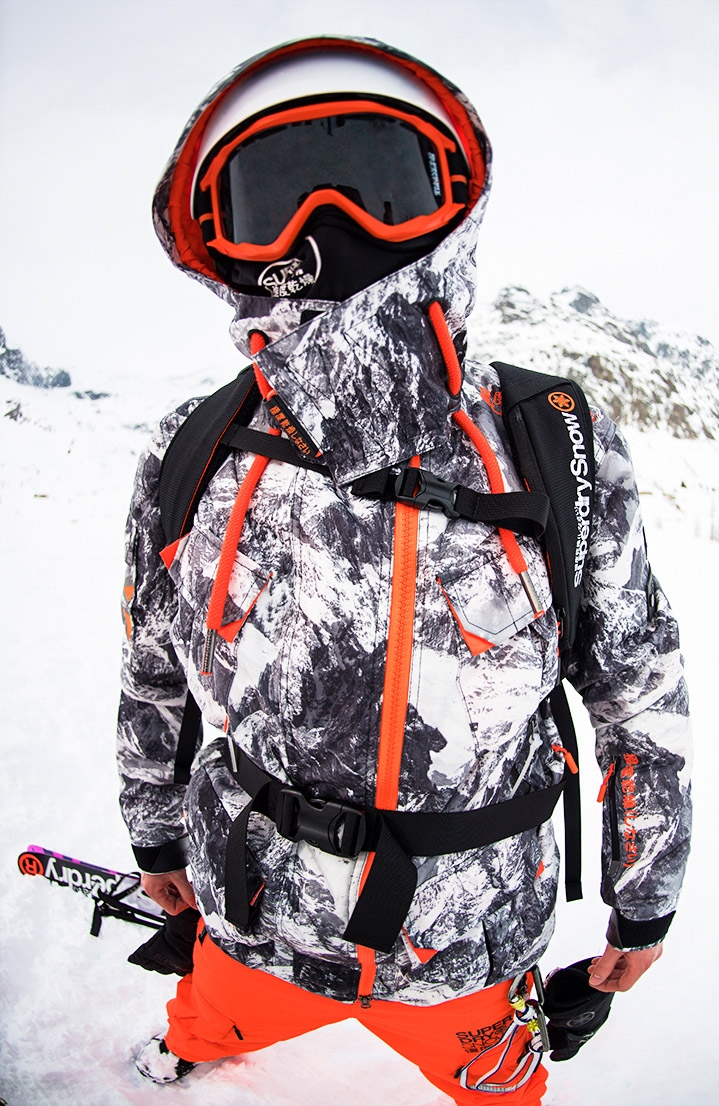 mens ski jackets ski snow clothing superdry. Black Bedroom Furniture Sets. Home Design Ideas