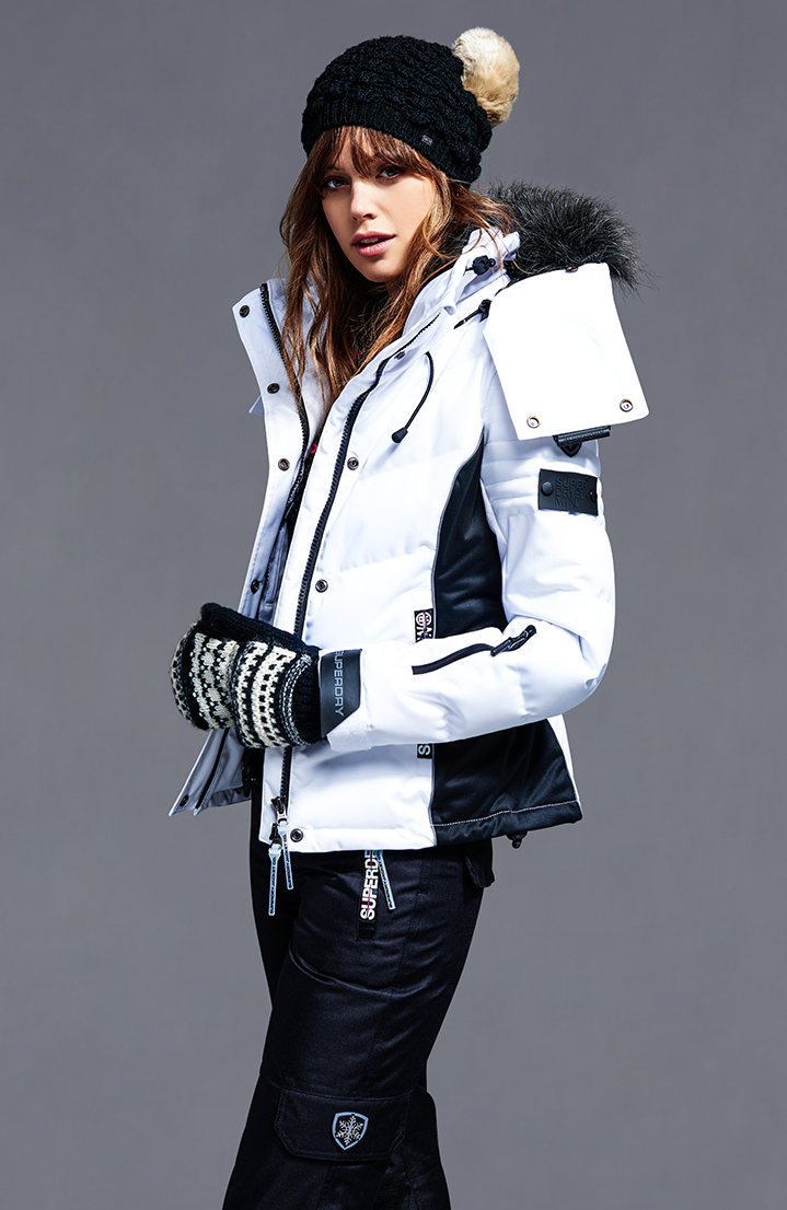 womens ski jackets coats ski wear accessories superdry. Black Bedroom Furniture Sets. Home Design Ideas